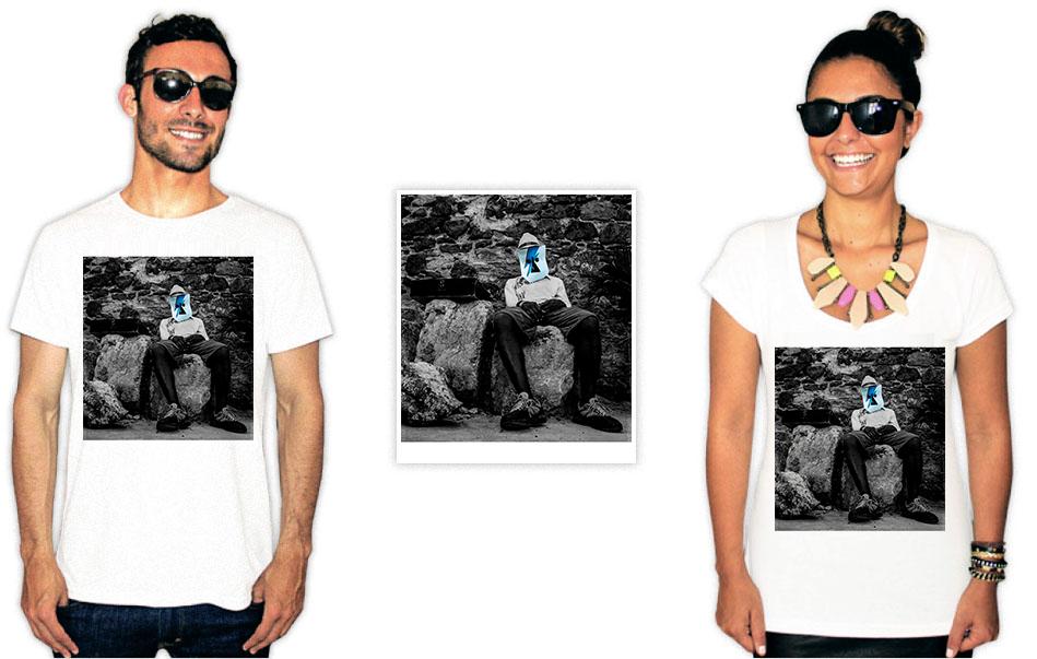 Camiseta com estampa do baiana system capa