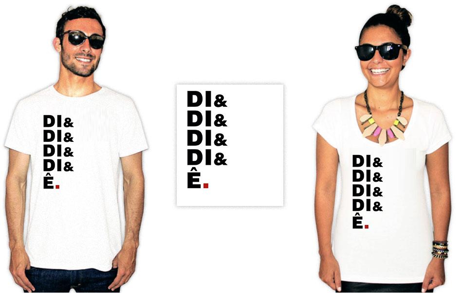 Camiseta com estampa da banda Raça Negra