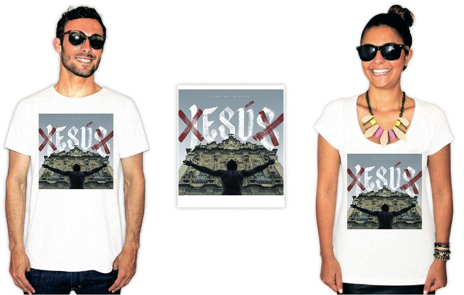 Camiseta com estampa de Baco exu do blues esú