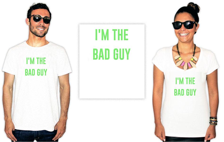 Camiseta com Estampa da cantora Billie Eilish Bad Guy