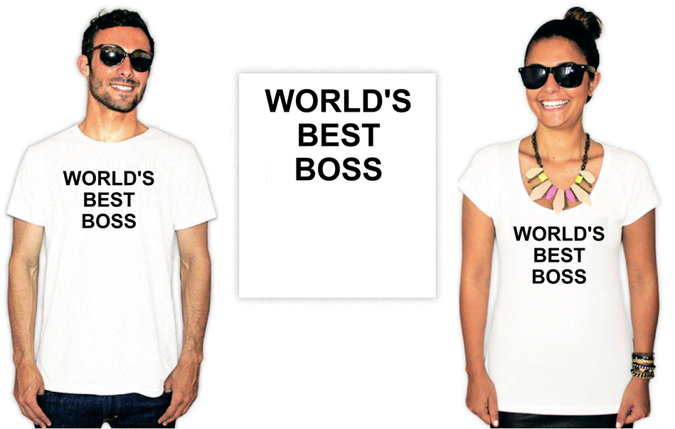 Camiseta com estampa do seriado The Office Best Boss