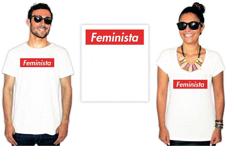 Camiseta Feminista com a estampa feminista