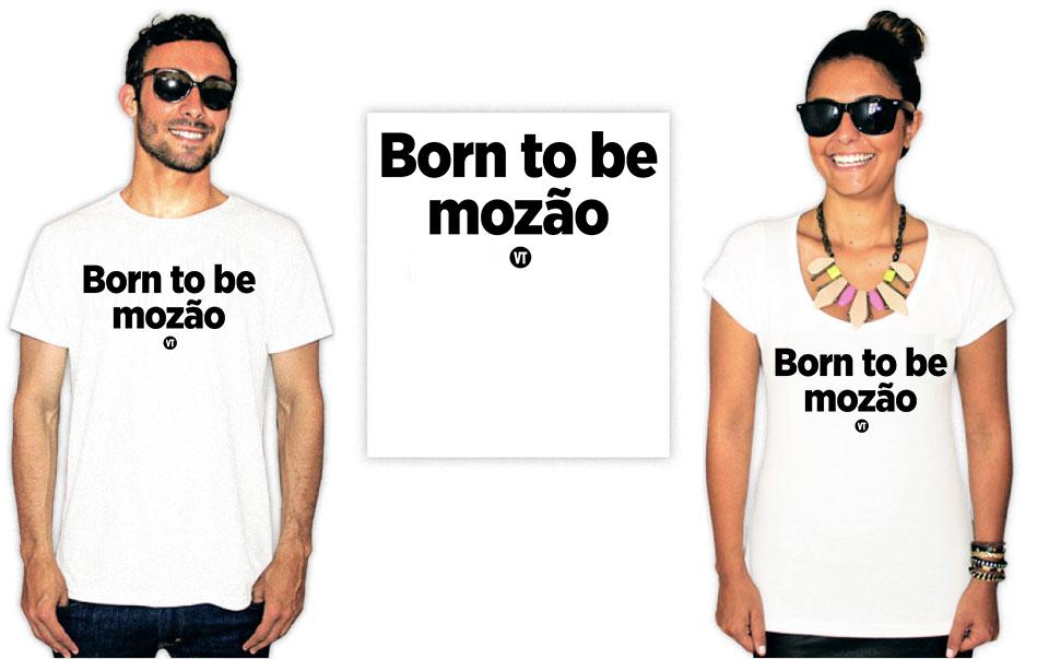 Camiseta Dia dos namorados born to be mozão