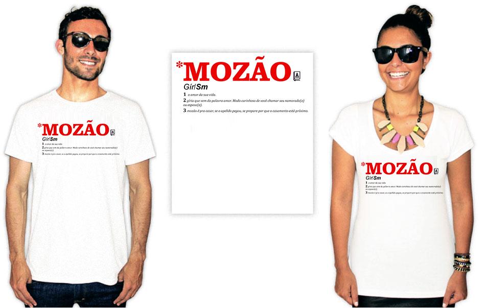 Camiseta Dia dos namorados mozão