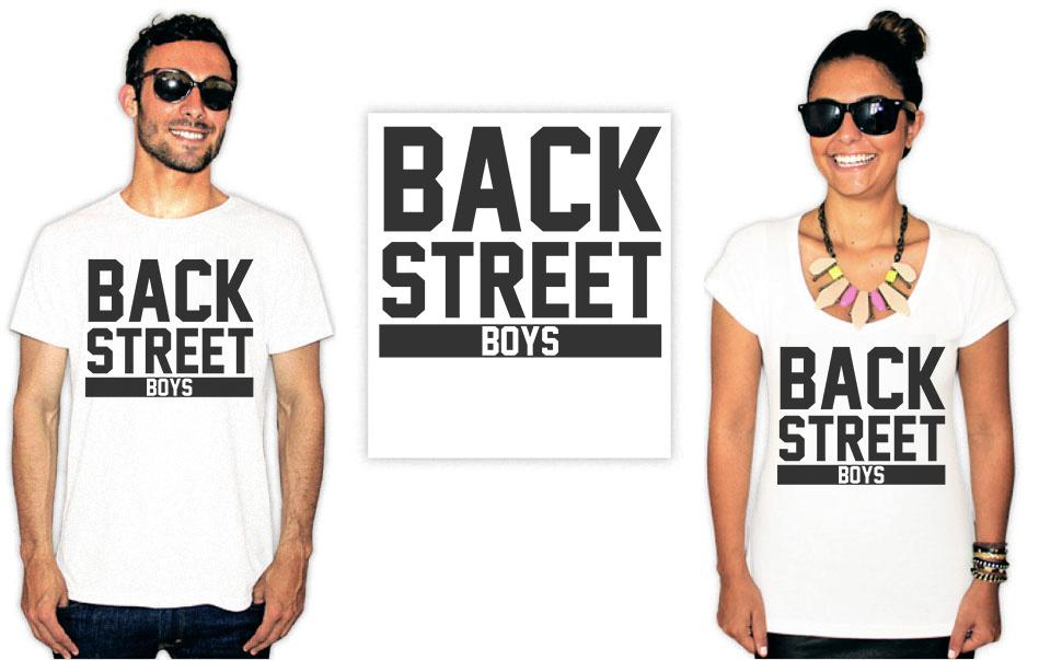Camiseta estampa Backstreet Boys