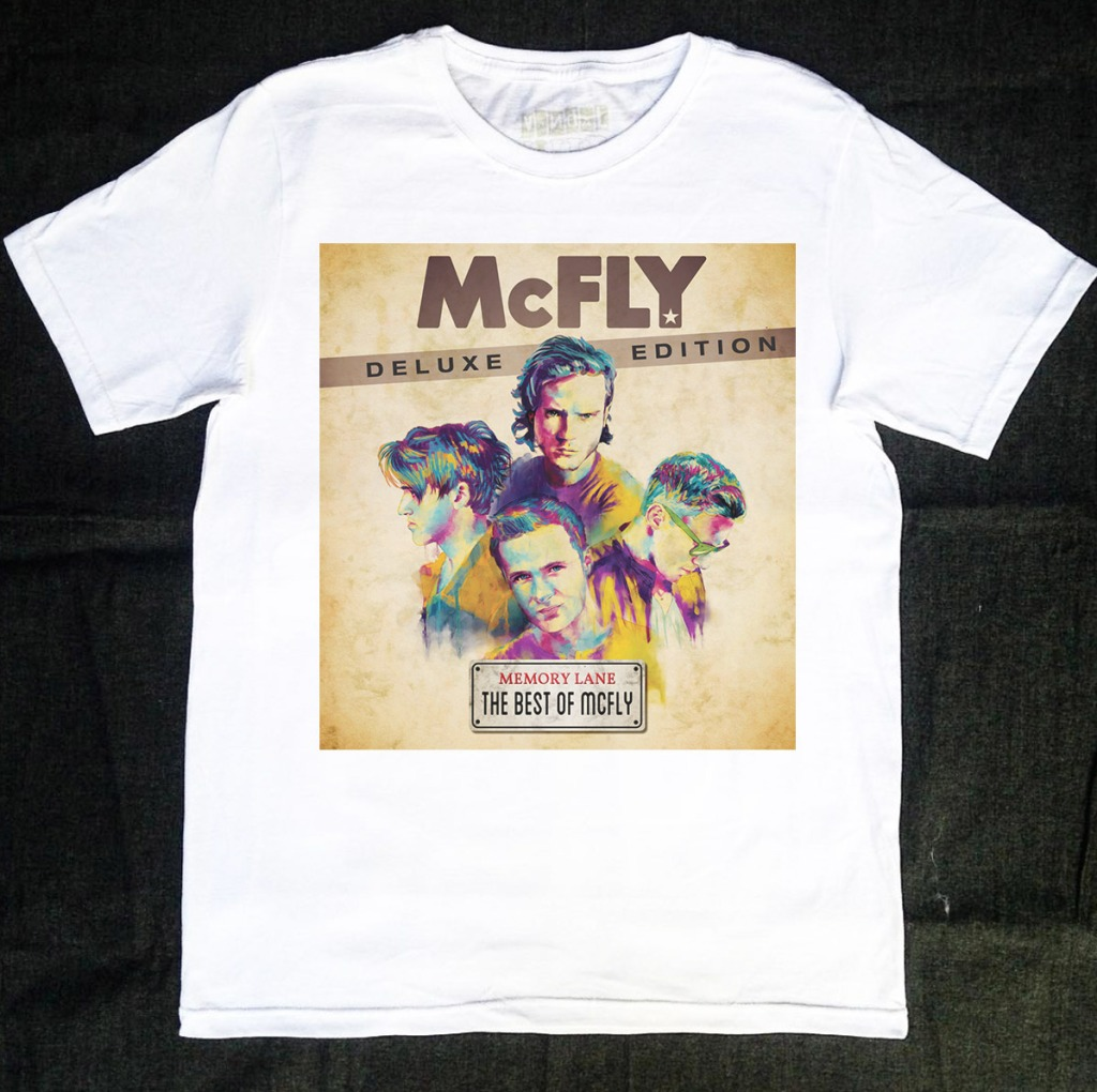 Camiseta McFly Deluxe Edition The Best of