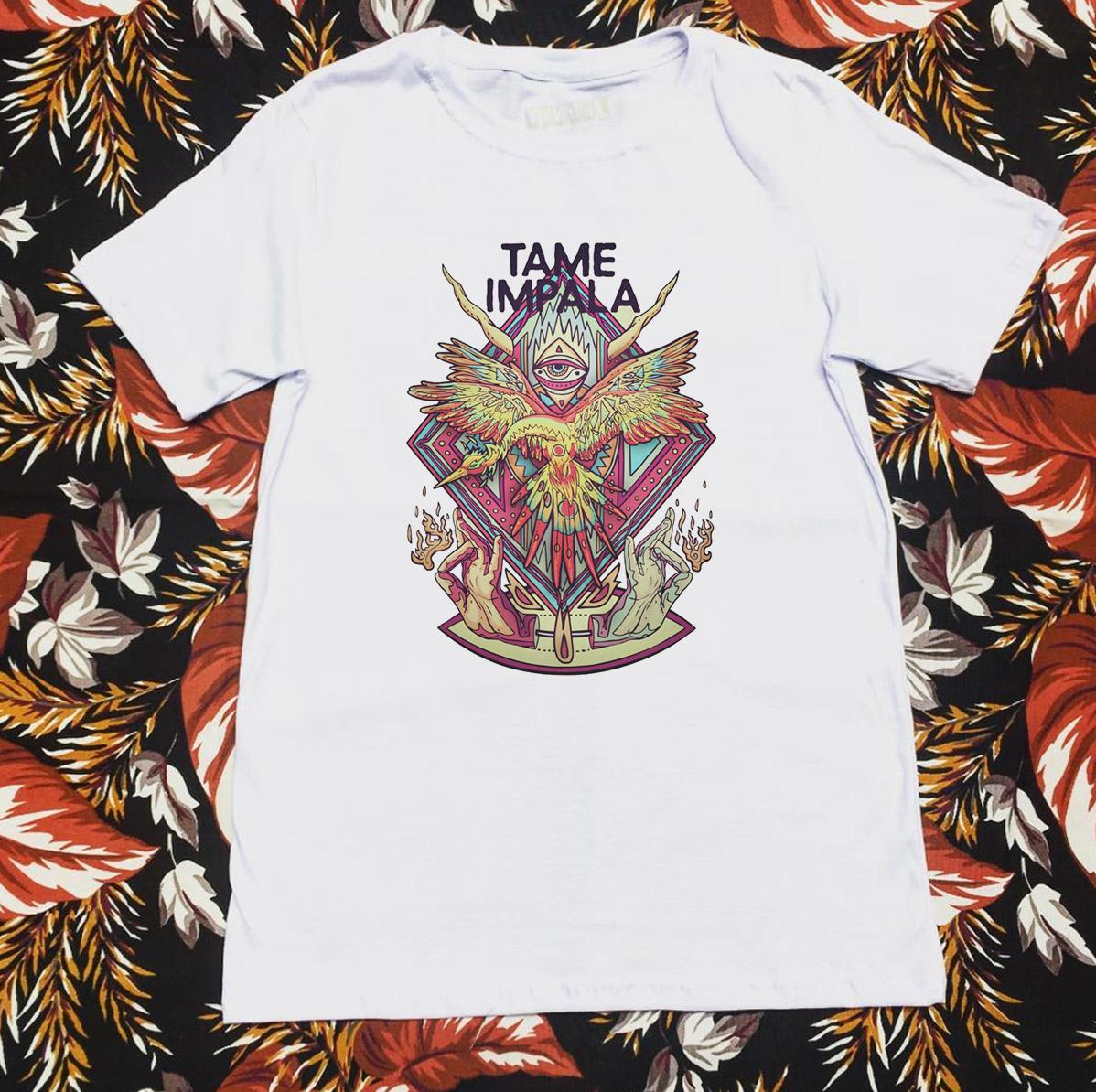 Camiseta tame impala eye hands