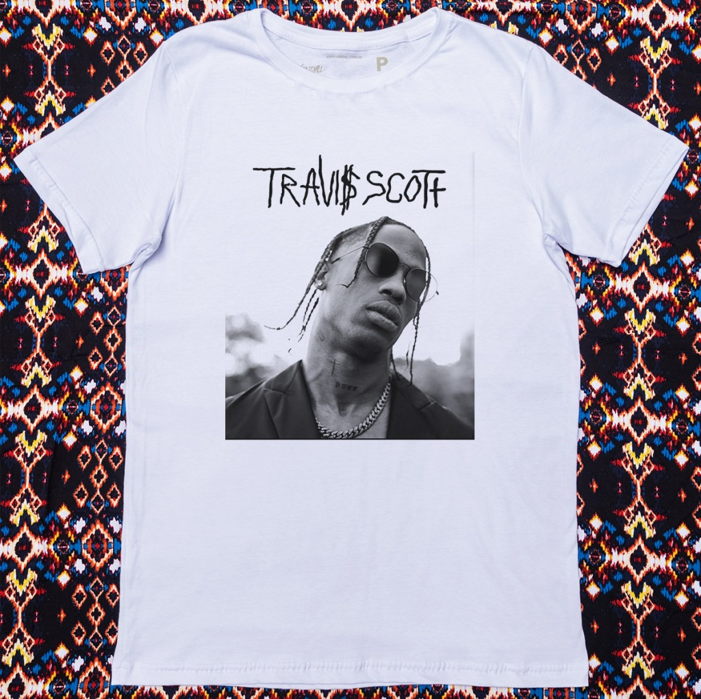 Camiseta Travis Scott Gangsta