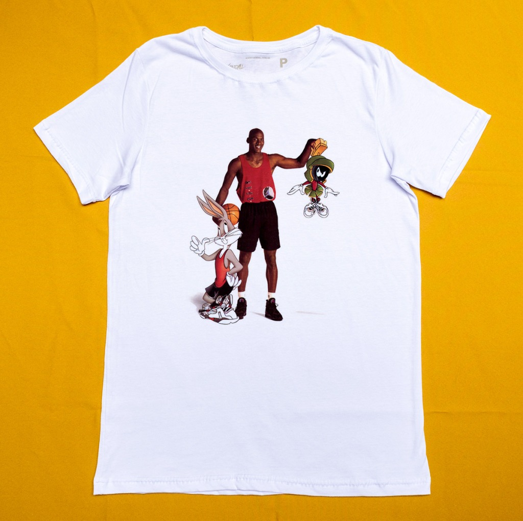 Camiseta Michael Jordan Space Jam