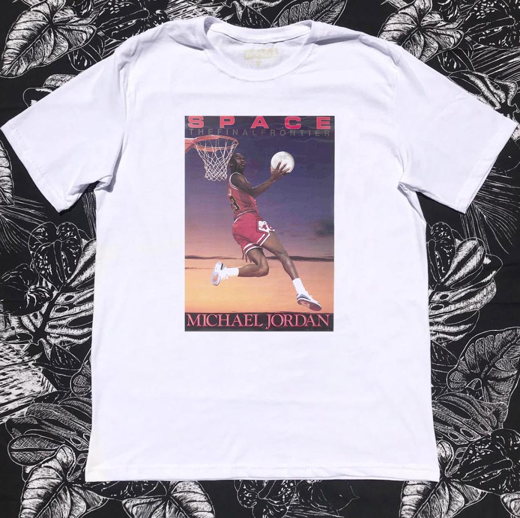 Camiseta Michael Jordan capa livro