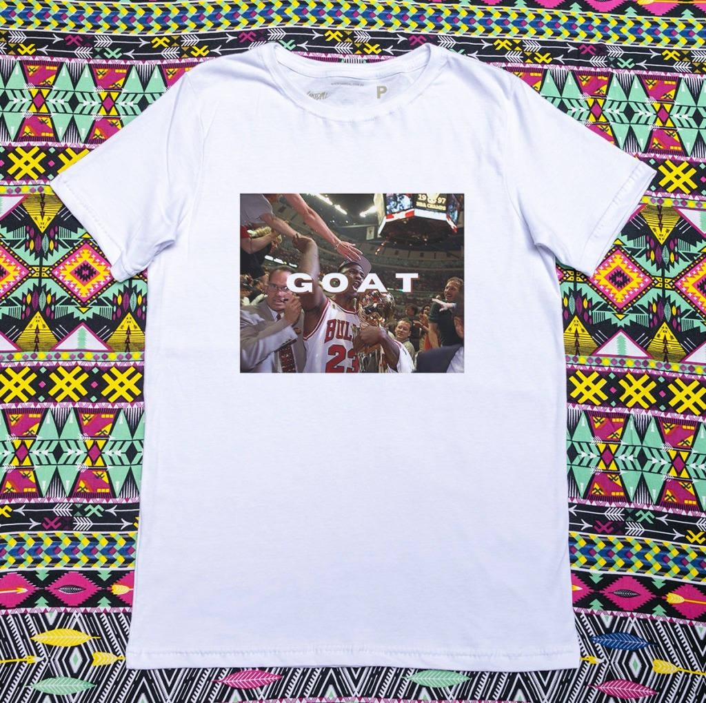 Camiseta Michael Jordan goat