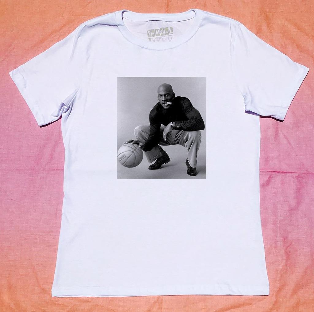 Camiseta Michael Jordan Com estilo