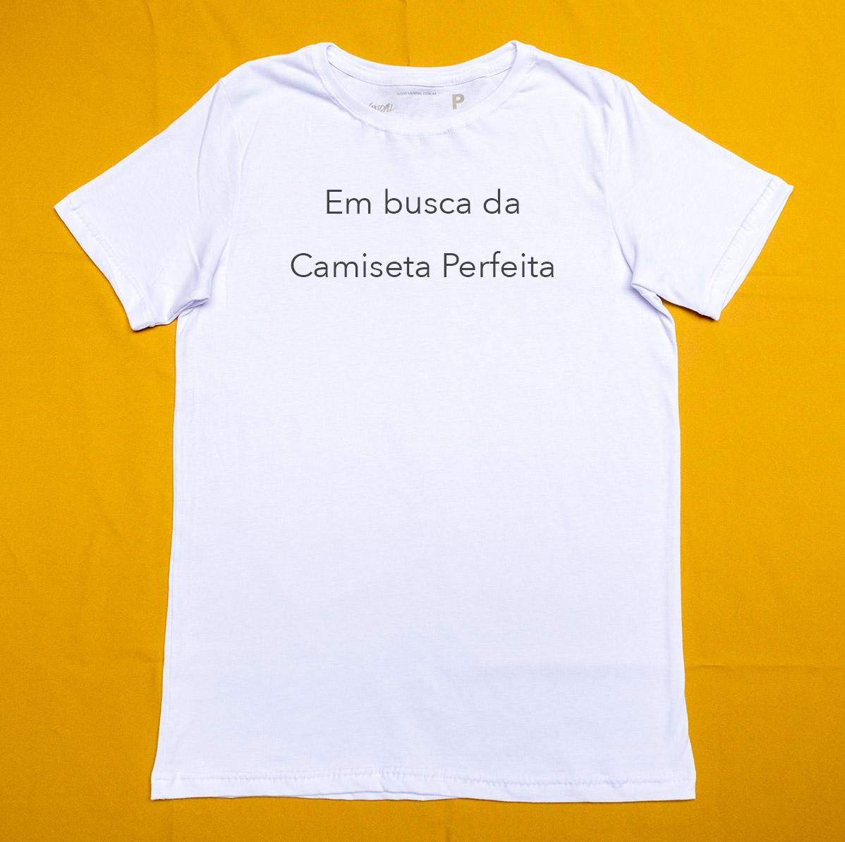 Camiseta perfeita