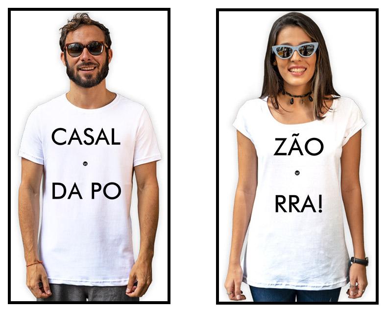 6 - Camisetas Casal Casalzão