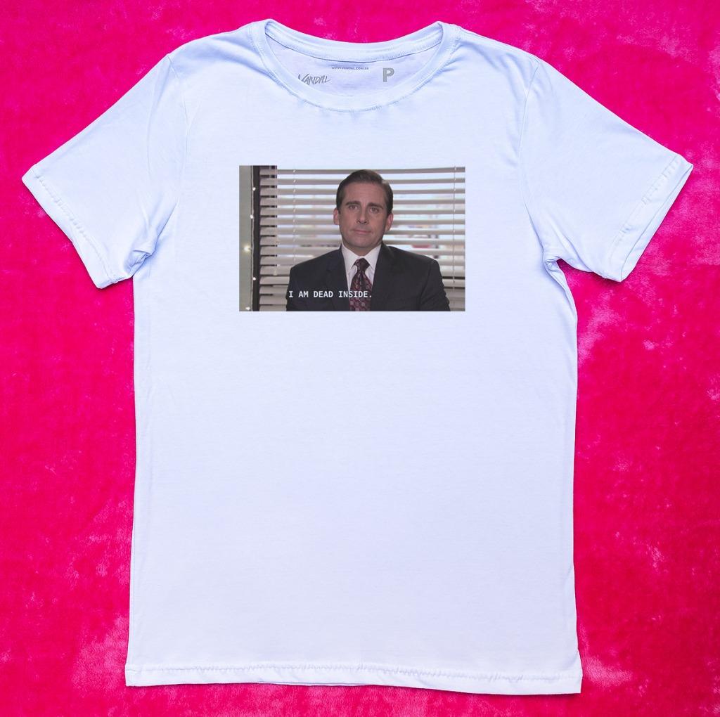 Camiseta The Office I'm Dead Inside