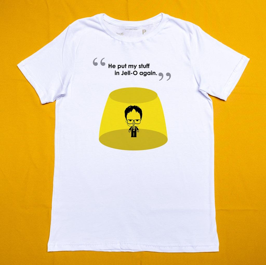14 - Camiseta The Office Dwight Jello