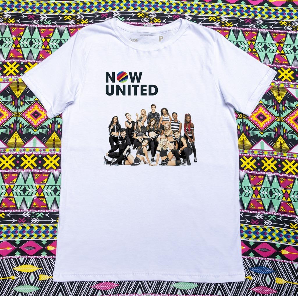2 - Camiseta Now United Formação Completa