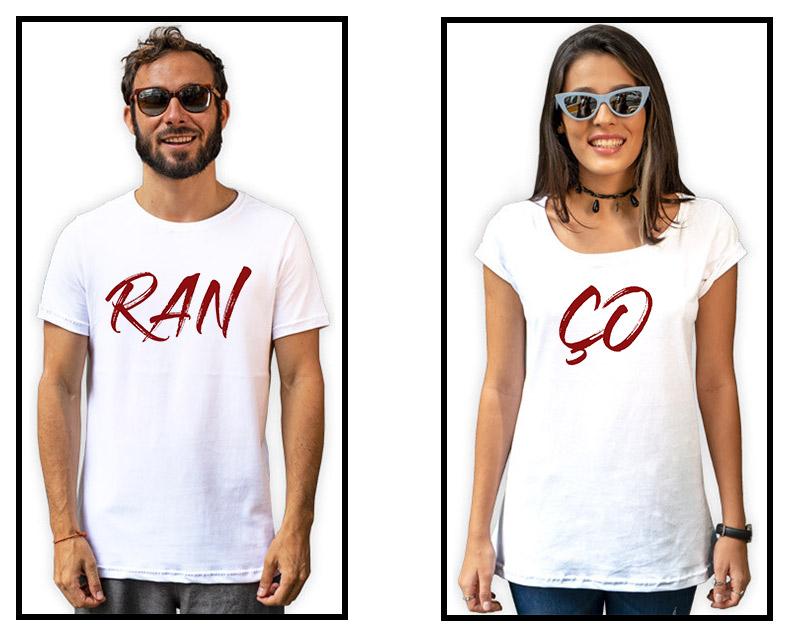 2 - Camisetas Casal Ranço