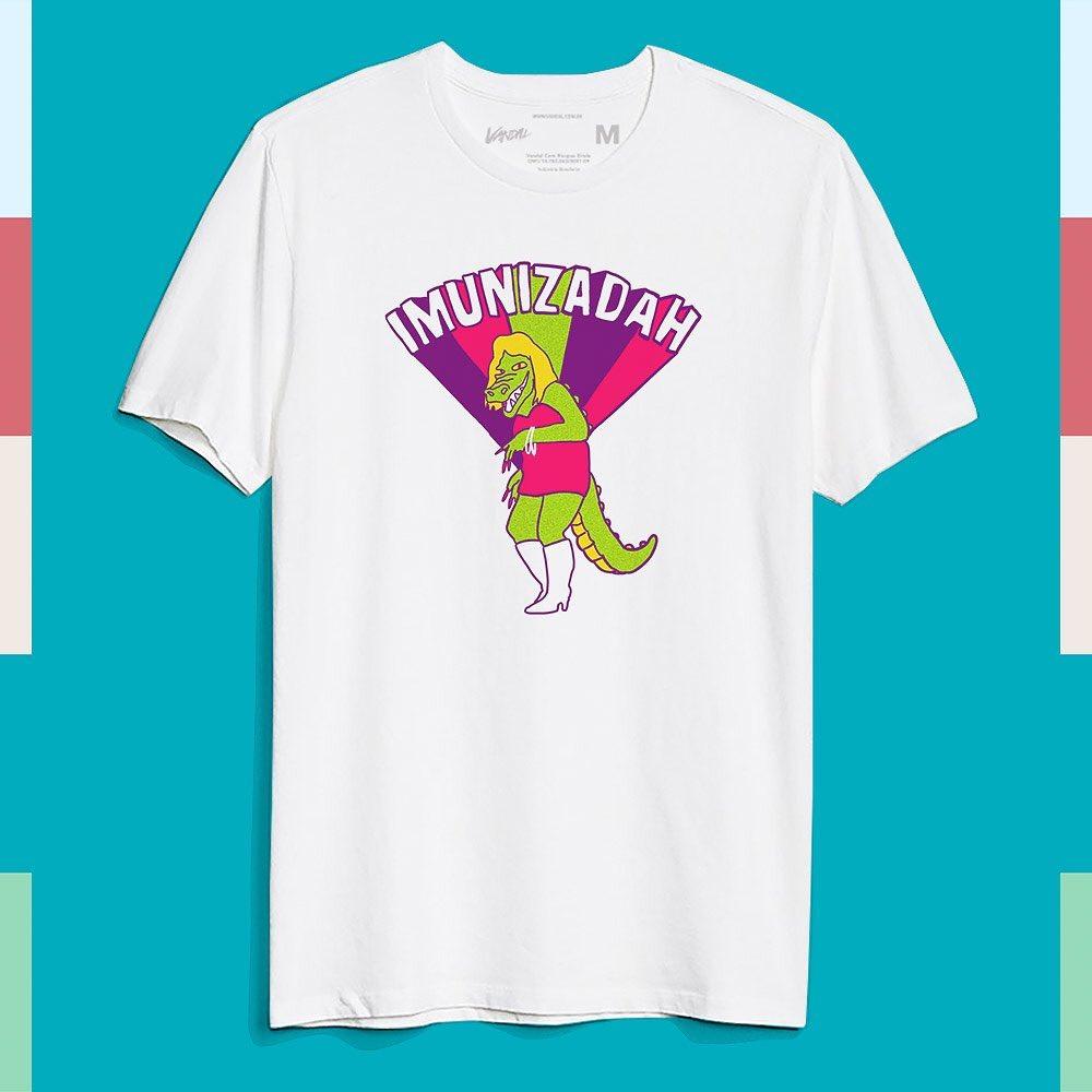 Camiseta imunizadah vacina